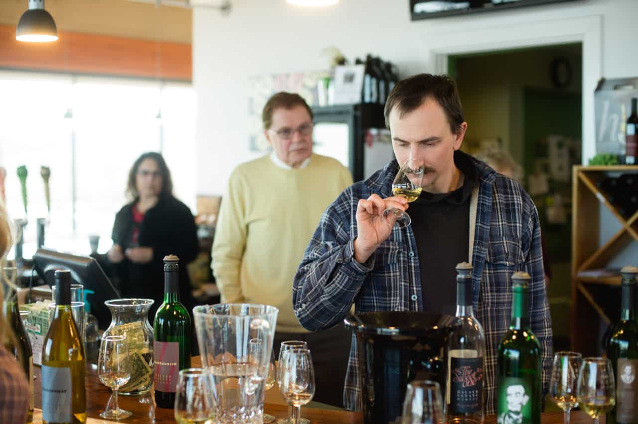 Wine & Cider Tasting | Alexandra Whitney Photography