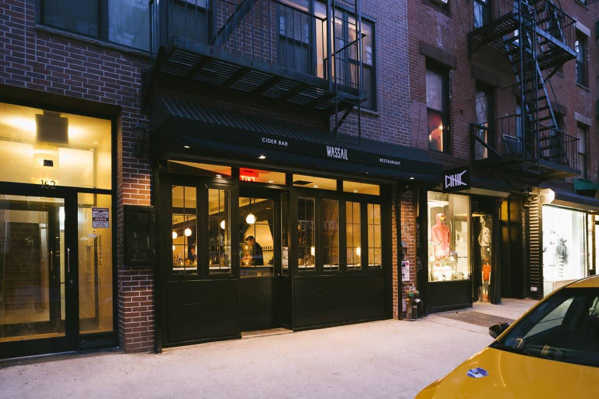 Wassail NYC Exterior