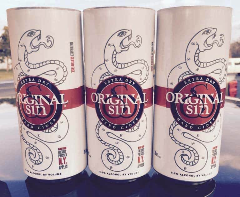 Original Sin Extra Dry Cans
