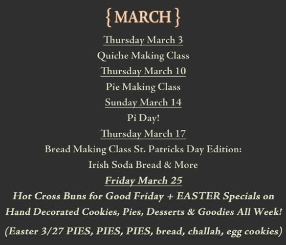 Frecon Farms March Events