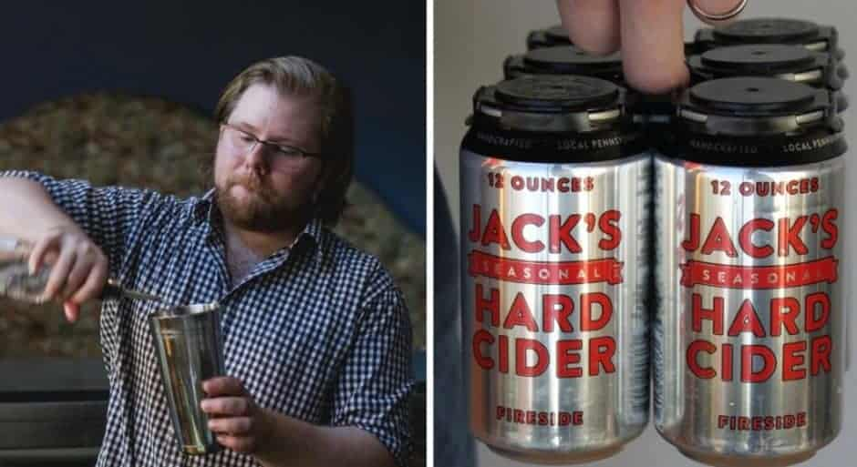 Jack's Hard Cider Collage