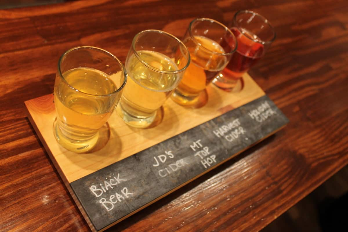 Reids Cider Flight