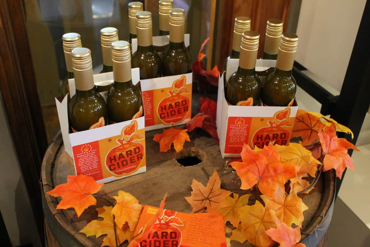 Chaddsford Winery Cider