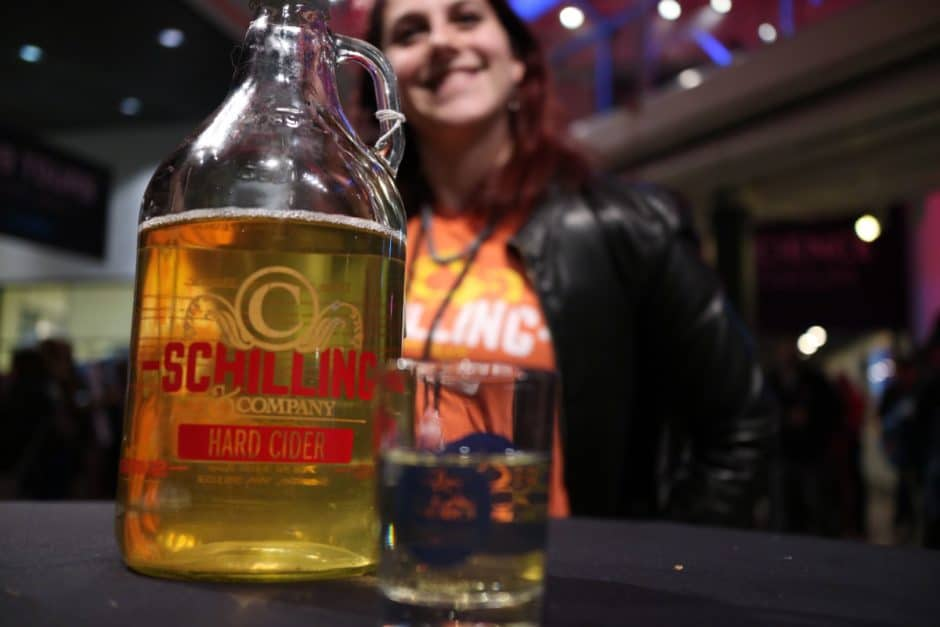 CiderCon 2016 OMSI opening party with Sarah Silverman from Schilling Cider