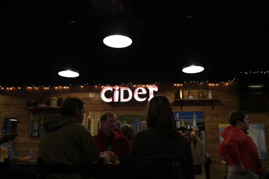 CiderCon 2016 Portland Cider Co interior shot