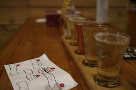 CiderCon 2016 Portland Cider House Sweet flight of Pacific Northwest ciders