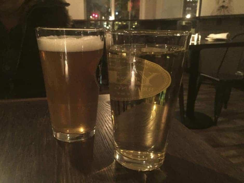 Clarkville and Cider Glasses