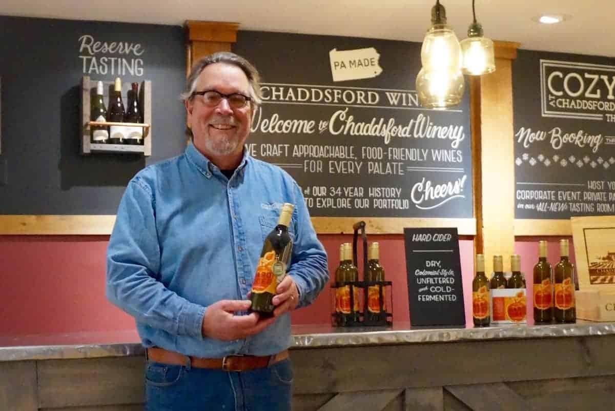 Jim Osborn Chaddsford Winery