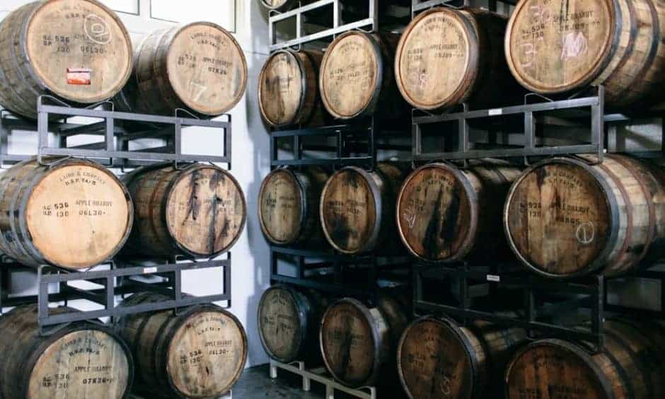 Potter's Cider barrels