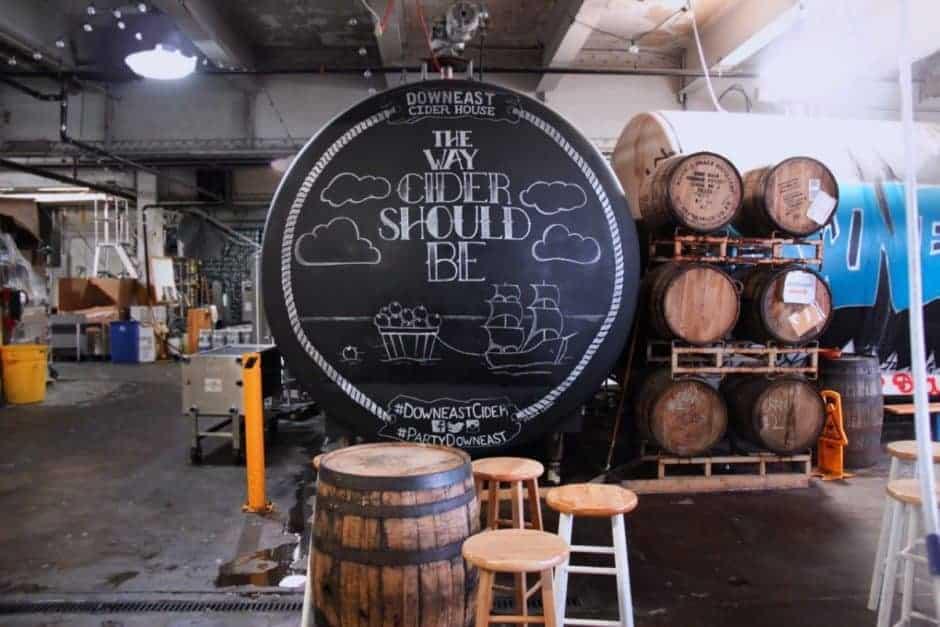 Downeast Cider House Barrel