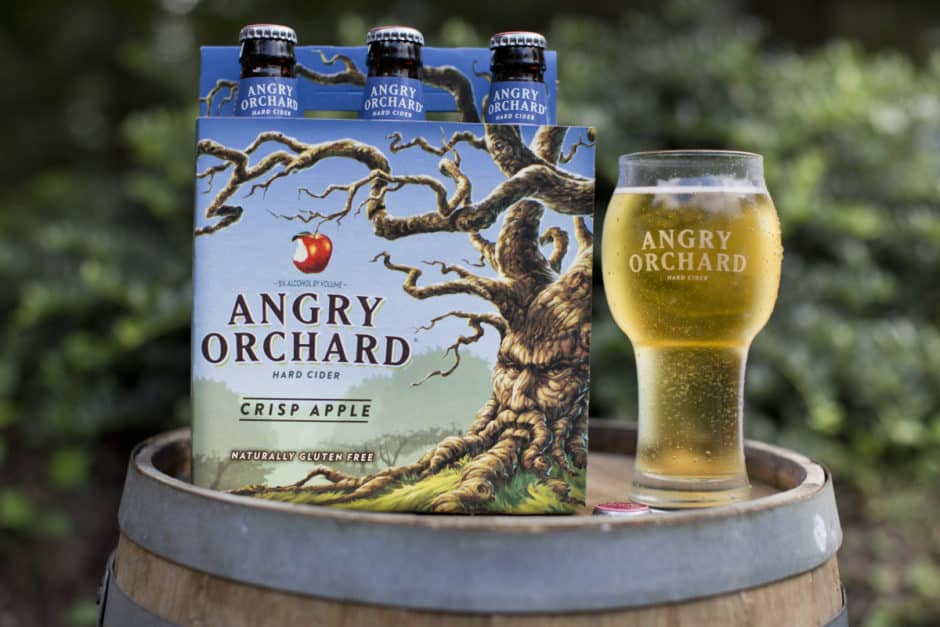 Angry Orchard Crisp Apple & Orchard Glass