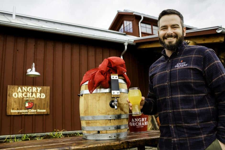 Angry Orchard Head Cider Maker - Ryan Burk
