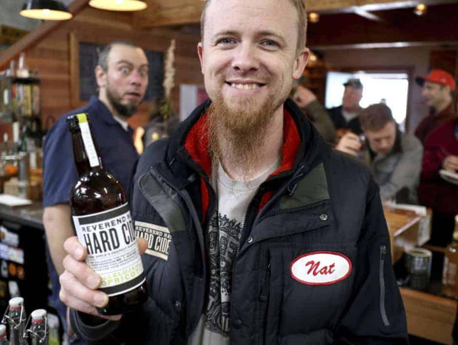 Reverend Nats_Nat showing some cider