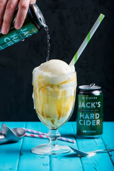 Jacks ice cream float