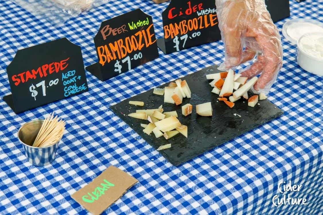 Cider Fest Cheese Goat Rodeo