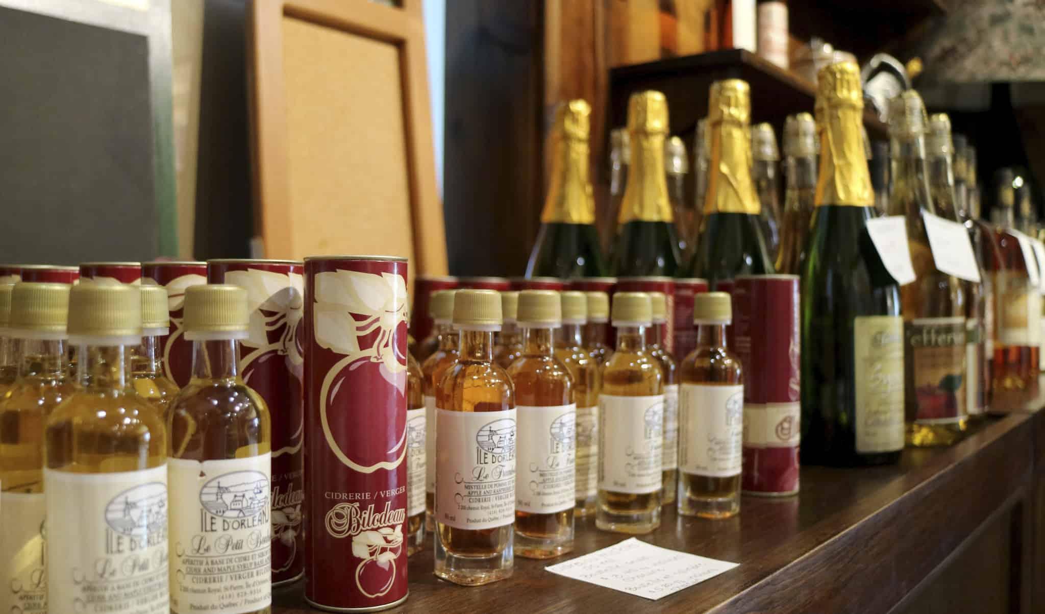 Quebec_Bilodeau more bottles