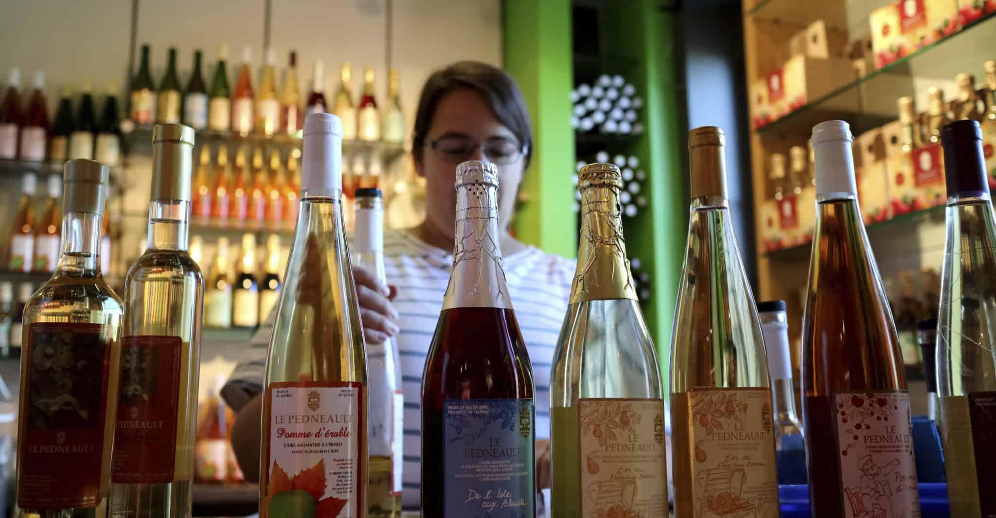Quebec_Old City_Pedneault_bottles