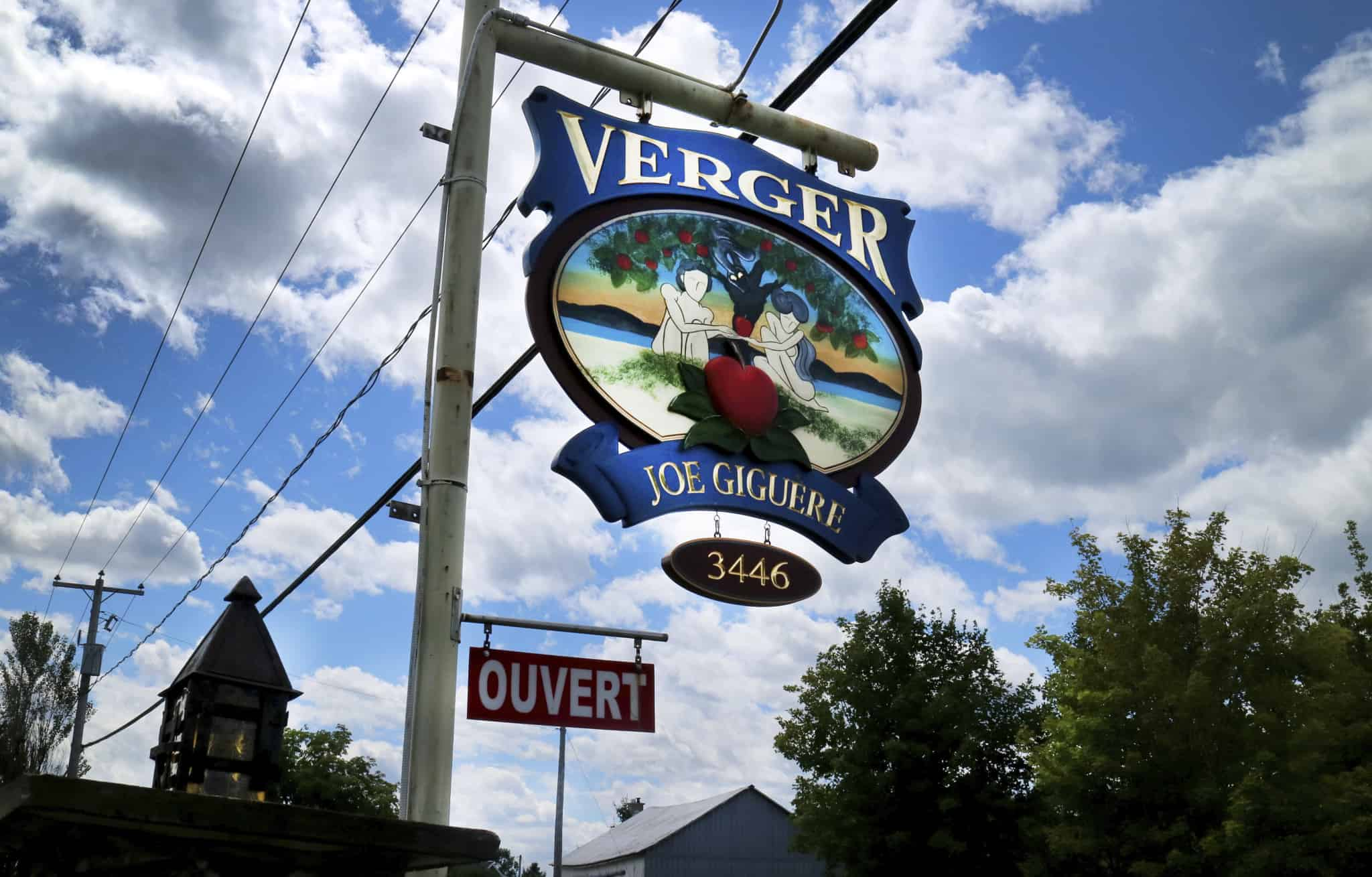 Quebec_Verger Joe Giguere_sign