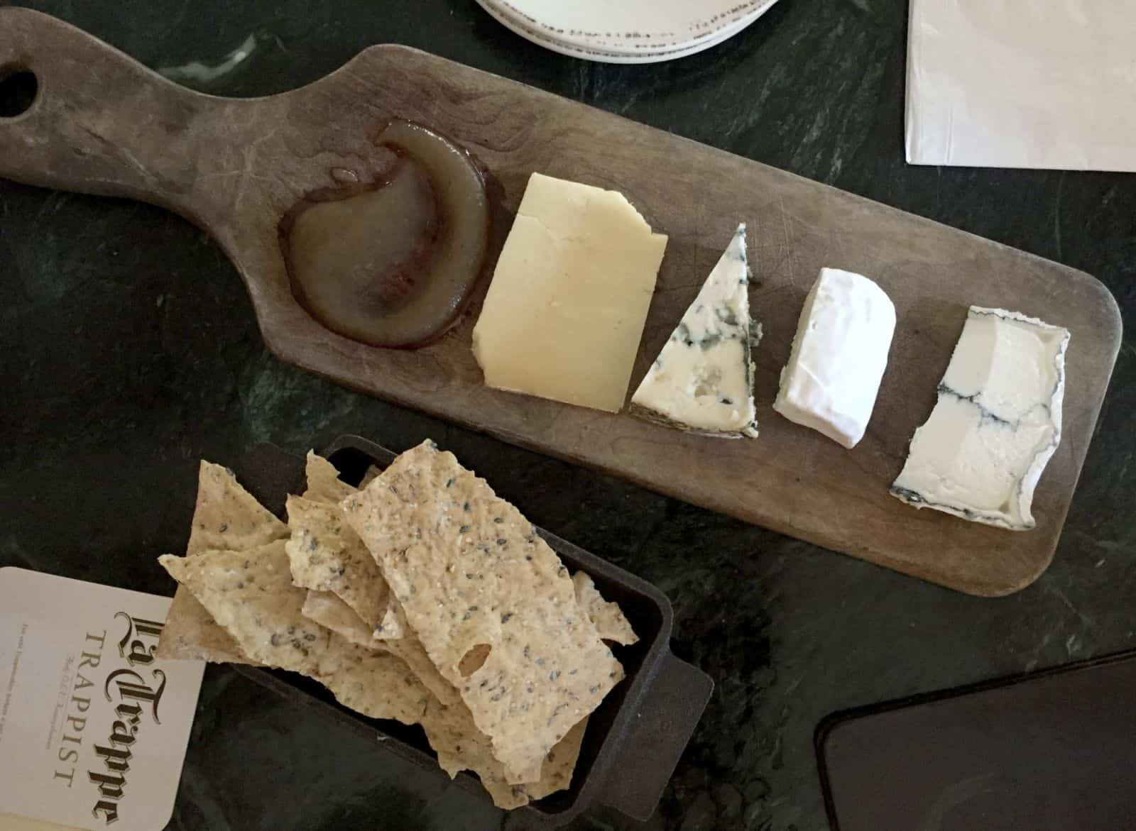 The Farmhouse cheeseboard