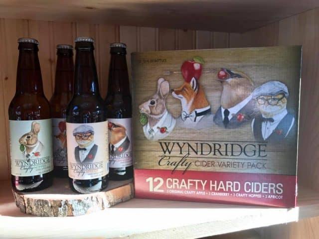 Photo credit: Wyndridge Farm; Tags: cider, cider sampler, sampler pack