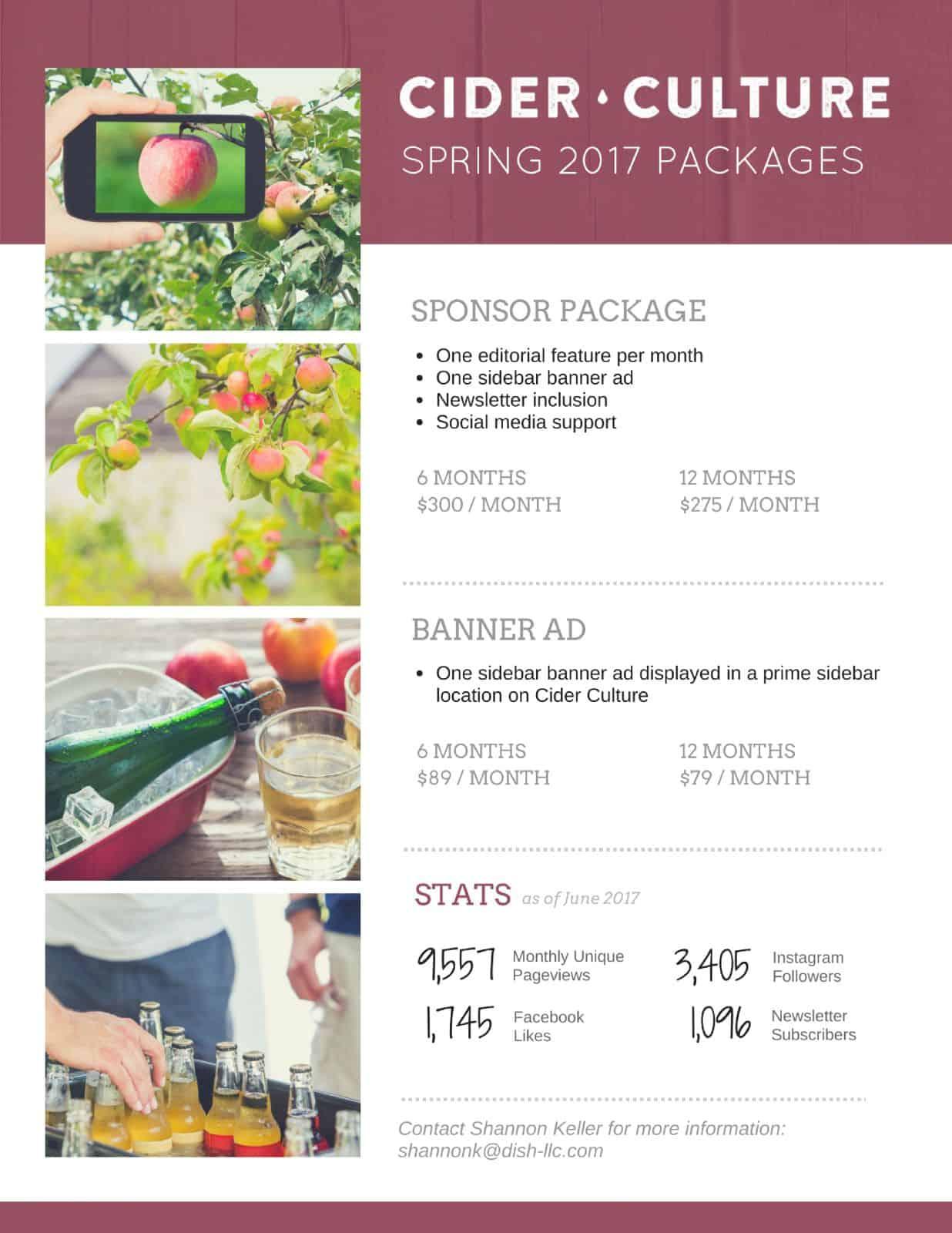 Cider Culture — Spring Special