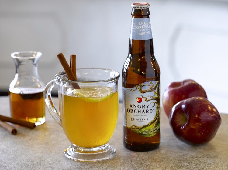 Thanksgiving cider cocktails