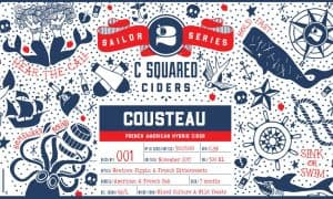 C Squared Ciders Cousteau