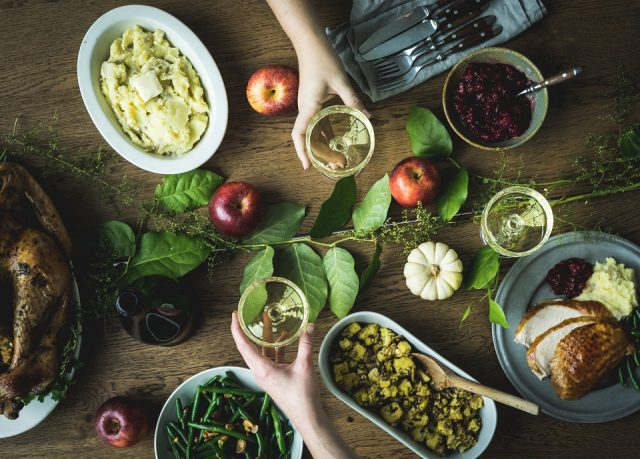 how to pair cider with Thanksgiving
