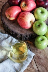 Cider - multicolored apples-1