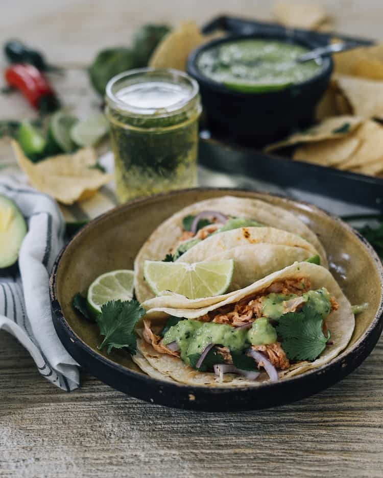 cider chicken taco recipe