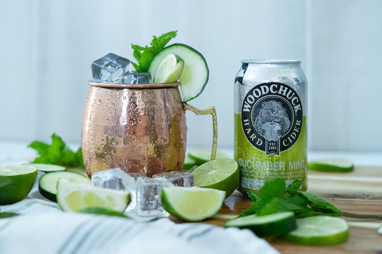 Woodchuck Cucumber Mint