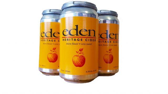 Eden Heritage Cider Cans