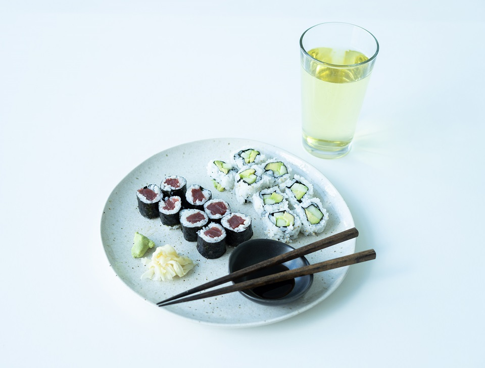 How to Pair Cider with Sushi