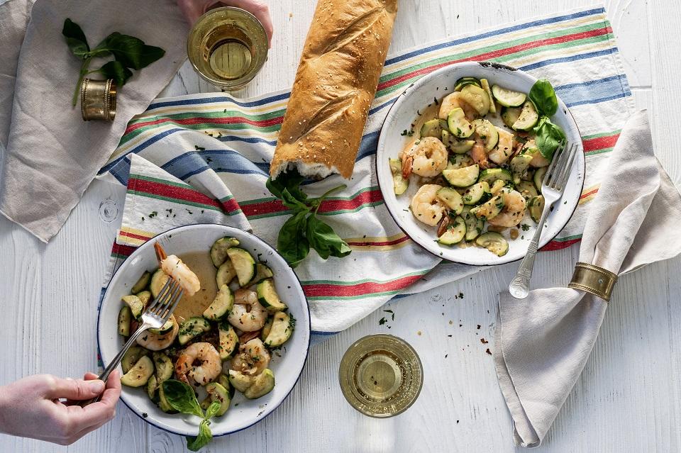 cider and Italian-American food