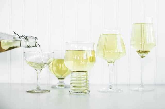 Cider glassware