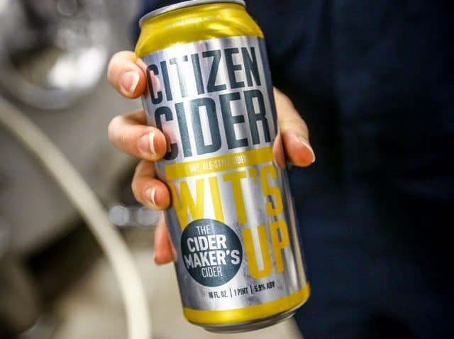 cider made with beer yeast