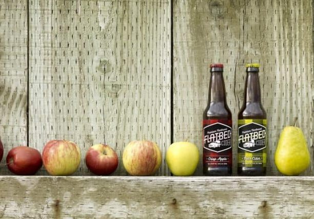 Photo credit: Courtesy of Flatbed Cider; Tags: cider, pear cider, apple cider, Flatbed Cider