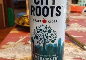 Cider Review: City Roots Cider's Evergreen Farmhouse Cider