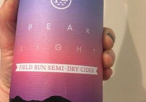 Cider Review: Peak Light Cider's Field Run Semi-Dry Cider