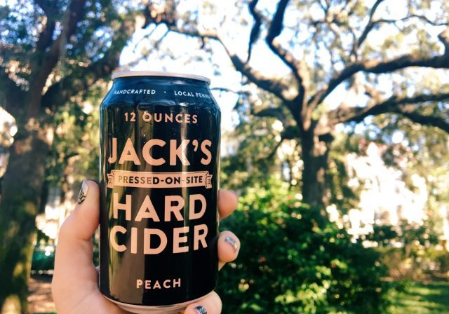 peach craft cider