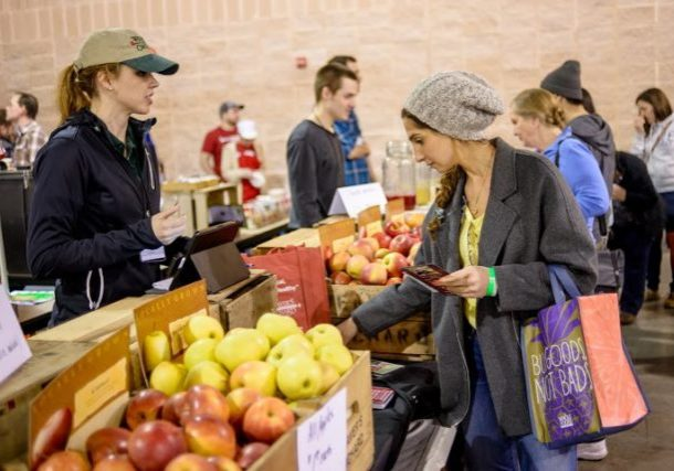 Photo credit: Philly Farm and Food Fest; Tags: apples, food vendors, farmers